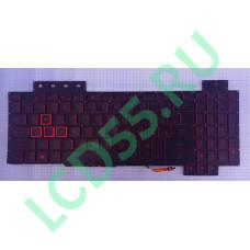Клавиатура Asus FX505GE FX505GD красная