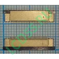 Разъем FFC FPC 28 pin 0.5mm Upper contact
