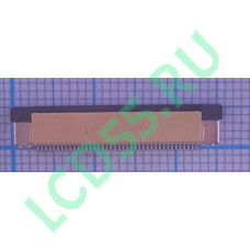 Разъем FFC FPC 40 pin 0.5mm Upper contact