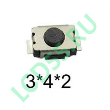 Кнопка 3x4x2 two pin